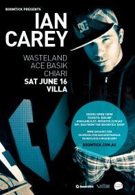 Ian Carey @ Villa
